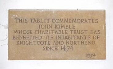 Kimble-Plaque